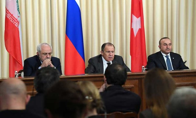 Turkey, Russia, Iran FMs to meet in Astana on March 16
