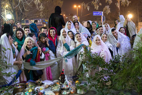 "The traditional customs of ""Ghashogh Zani"" and ""Shal Andazi"""