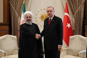Iranian, Turkish presidents meet in Ankara