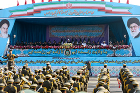 Iran commemorating 40th National Army Day