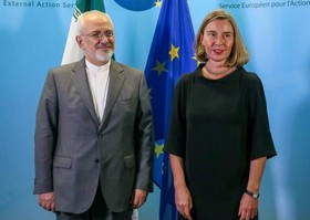 Zarif sends letter to Mogherini on reducing commitments