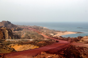 Hormuz Island's Red Coast