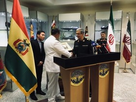 Bolivia eager to cooperate with Iran in technical and arms fields