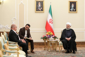 Latvian Ambassador in Tehran presented his credentials to the Iranian President Hassan Rouhani.