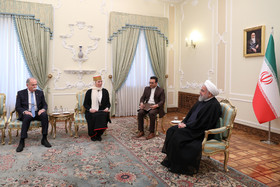 Estonian Ambassador in Tehran presented his credentials to the Iranian President Hassan Rouhani.