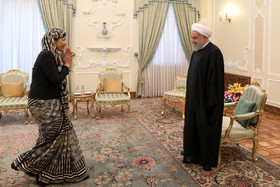 Nepali Ambassador in Tehran presented his credentials to the Iranian President Hassan Rouhani.