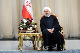 The Iranian President Hassan Rouhani / The members of Iran national football team and coaching staff met with the Iranian President Hassan Rouhani on Sunday May 20 in Tehran.