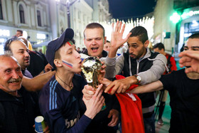 Enthusiastic football fans, from all around the world, have come to Russia to support their football teams.