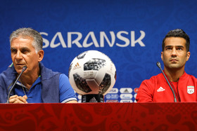 Iran, Portugal press conference before big match