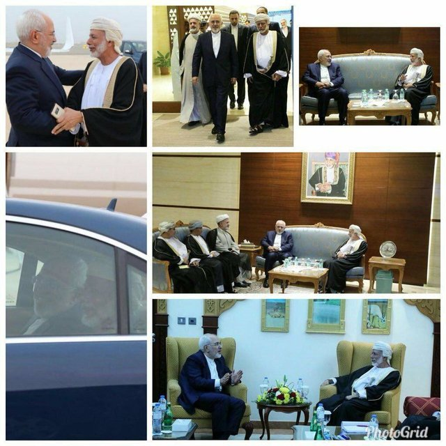 Iranian FM meets with Omani counterpart in Muscat