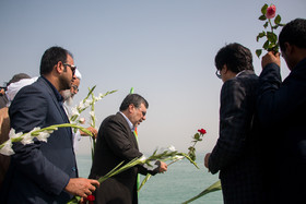 The anniversary commemoration of the downing of Iran Air Flight 655 was held on Tuesday July 3 in the presence of the victim's families and military and government officials.