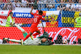 England played against Sweden on Saturday July 7 in quarter-final of the FIFA World Cup and it was two-nil to England. The last time England reached the World Cup's semi-finals was 28 years ago.