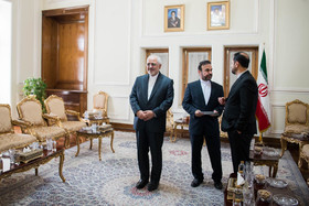 On the sidelines of the Iranian Foreign Minister's meetings with the secretary generals of PUOICM and ECO