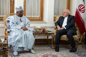 The new secretary general of the Parliamentary Union of the OIC Member States Mouhamed Khouraichi Niass met with the Iranian Foreign Minister Mohammad Javad Zarif on Tuesday August 7 in Tehran.