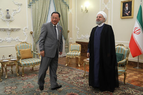 Iranian President's meeting with N Korean FM