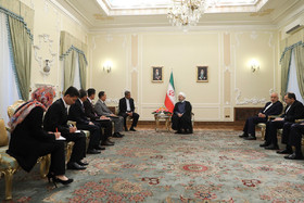 The Iranian President Hassan Rouhani held a meeting with North Korean Minister of Foreign Affairs Ri Yong-Ho on Wednesday August 8 in Tehran.