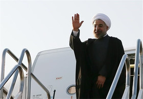 Rouhani to visit Kazakhstan on Saturday