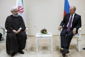 Rouhani, Putin discuss bilateral, regional issues