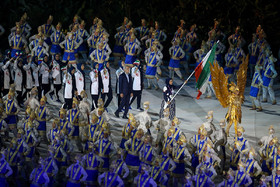 Iran's sports delegation in 2018 Asian Games / The opening ceremony of 18th Asian Games was held on Saturday August 18 in Jakarta, Indonesia. Indonesia is hosting the 2018 Asian Games in cities of Jakarta and Palembang from August 18 to September 2.