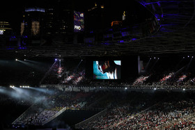 The opening ceremony of 18th Asian Games was held on Saturday August 18 in Jakarta, Indonesia. Indonesia is hosting the 2018 Asian Games in cities of Jakarta and Palembang from August 18 to September 2.