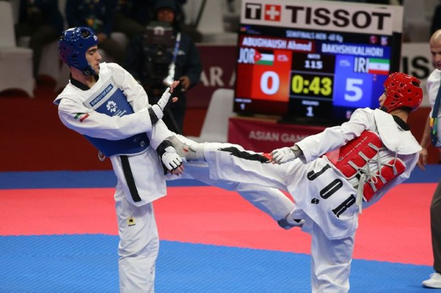 Iranian taekwondo practitioners claim 2 gold medals at Bulgaria tournament