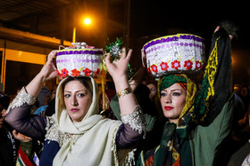 The family of bride made dinner for bride and and groom. Although modern life has impacted on traditional customs especially on weddings, there are some families in Lorestan province who follow these customs.