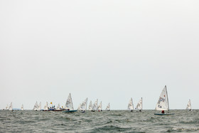 Sailing competitions were held on Saturday August 25 in Indonesia. Iranian sailors were also present in the competitions.