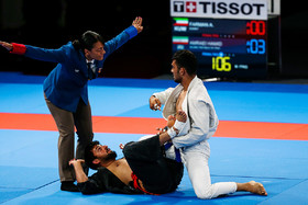 Iranian Jiu-Jitsu practitioners eliminated in round 16