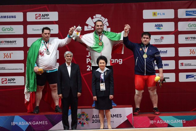 Behdad Salimi wins gold medal, announces retirement