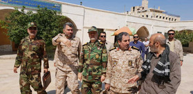 Iranian Defense Minister visits Aleppo