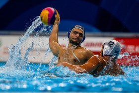 Iran water polo team defeated by Kazakhstan