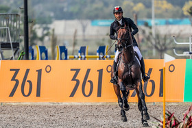 Six Iranian horse riders are competing in equestrian events at 2018 Asian Games.