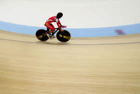 On thirteenth day of 2018 Asian Games, the Iranian cyclist Mohammad Ganj Khanlo was placed fourth in omnium event.