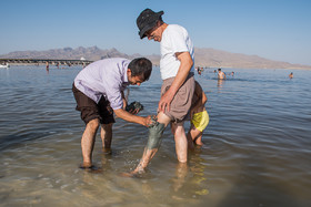 Lake Urmia has been known for its health benefits since a very long time. Since the mud in Lake Urmia is rich in sodium, chloride, magnesium, potassium, iron, and calcium, many diseases related to skin are cured by mud bath in the lake.