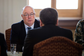 British Minister of State for the Middle East and North Africa, Alistair Burt