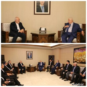 Iranian, Syrian FMs meet in Damascus