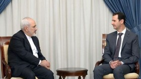 Iran FM meets with Syrian President in Damascus