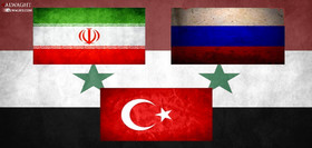 Turkey to continue cooperation with Russia, Iran on Syria