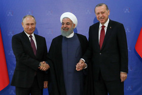 Trilateral summit on Syria held in Tehran