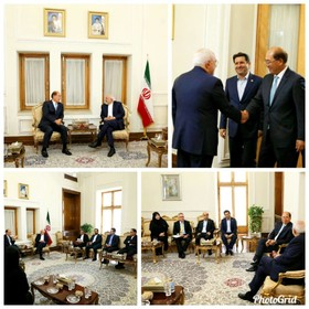 Iran's Zarif meets with secretary general of IMO