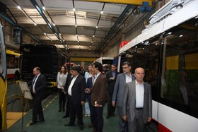 Iranian Parliamentary delegation visits production line of Belkommunmash