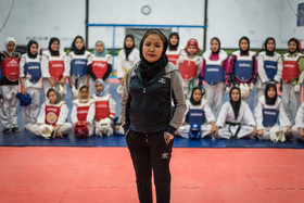 Haniyeh Mohammadi is an international champion in taekwondo and a coach who has been practicing this sport for thirteen years.
