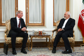 New Zealand's Deputy secretary Jeff Langley from the Ministry of Foreign Affairs and Trade met with Iranian Foreign Minister Mohammad Javad Zarif on Monday in Tehran.
