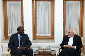 Mr Zarif's meeting with the newly-appointed Senegalese ambassador to Tehran