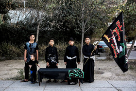 Children's participation in mourning for Imam Hussain