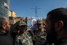 The funeral ceremony for victims of terrorist attack in Ahvaz was held on Monday September 24 in Khuzestan province.
