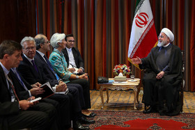 Iran willing to deepen ties with financial institutions, especially IMF