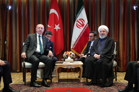 Iranian, Turkish presidents discuss key bilateral, regional, int'l issues
