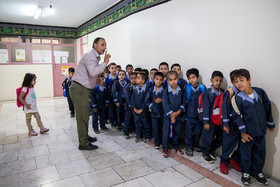 Students are being prepared to go to classes. On 2016, Iranian ministers approved the law which allows immigrant children to be freely educated in Iran.