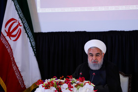 Rouhani attends press conference in New York City